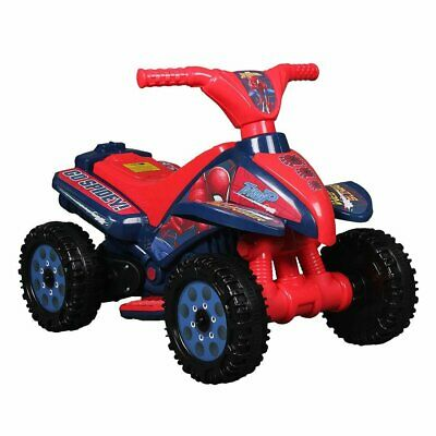 AU149.99 • Buy Spider-Man 6V Motorised Quad Bike Ride On For Ages 18+ Months