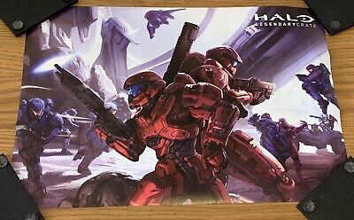 £12 • Buy Halo Legendary Loot Crate - Spartan Arena Poster