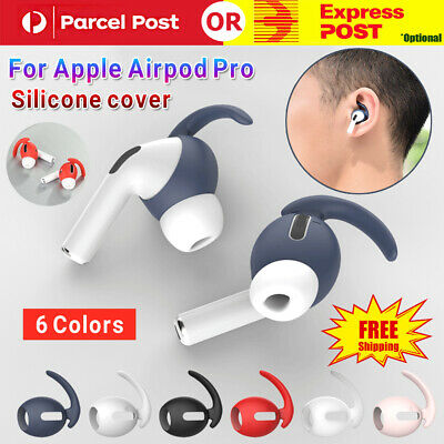 AU6.99 • Buy 2Pcs Silicone Earphone Cap Ear Tips Cover Slim Hooks Anti Slip For Airpods Pro
