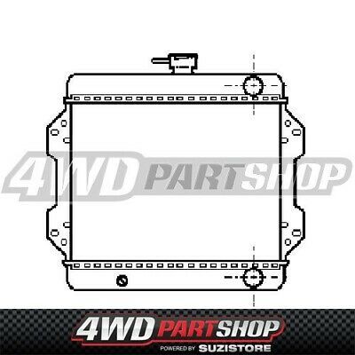 AU423.50 • Buy Radiator For - Suzuki Sierra SJ40 / Maruit MG410 1.0L F10A 1984 ~ 2000