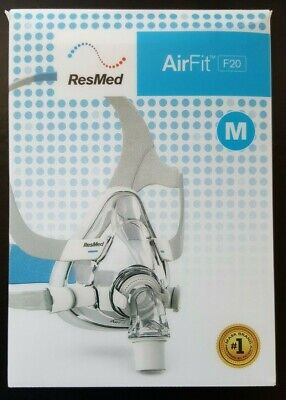 AU69 • Buy Full Face Cushion / Seal For Resmed Air Fit F20 CPAP Mask  In Size S / M / L New
