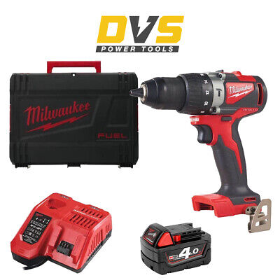 Milwaukee M18BLPD2-401X Cordless M18 Brushless Percussion Drill & Accessories • 199.95£