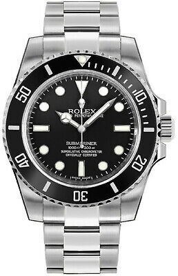 $ CDN13739 • Buy Rolex Submariner 114060 Ceramic New Condition Automatic Men's Watch 40mm