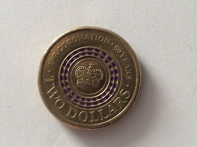 AU35 • Buy 2013 $2 Two Dollar Circulated Purple Coronation Coin.
