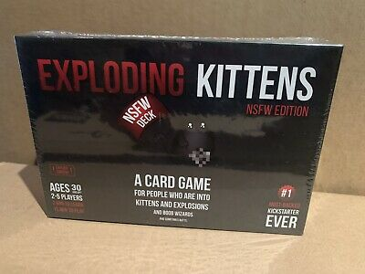 AU20 • Buy Exploding Kittens NSFW Edition (Adults Only) - New In Plastic