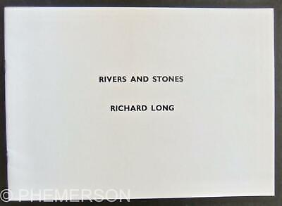 Richard LONG Rivers And Stones 1978 Artist's Book B/w Photos • 29£
