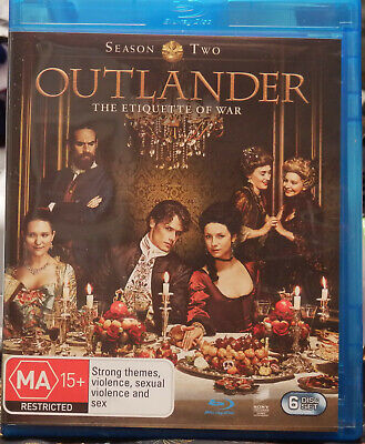 AU22 • Buy OUTLANDER: Season 2 (Blu-ray, 2016, 6-Disc Set) OPENED BUT NEVER PLAYED - AS NEW