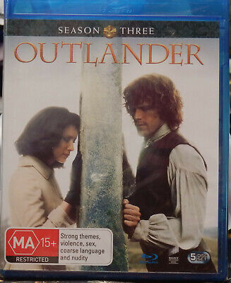 AU22 • Buy OUTLANDER: Season 3 (Blu-ray, 2017, 5-Disc Set) NEW/SEALED - NEVER OPENED