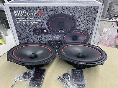 """$ CDN247.70 • Buy MB Quart RS1-269 Reference 6X9"""" Component Car Speakers - New Pair - TOP QUALITY!"""