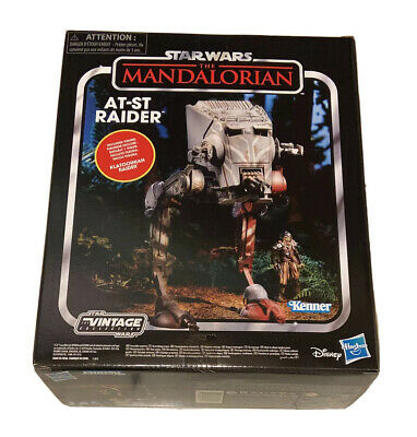 $ CDN181.48 • Buy Star Wars Vintage Collection Mandalorian AT-ST W/ Klatooinian Raider Kenner