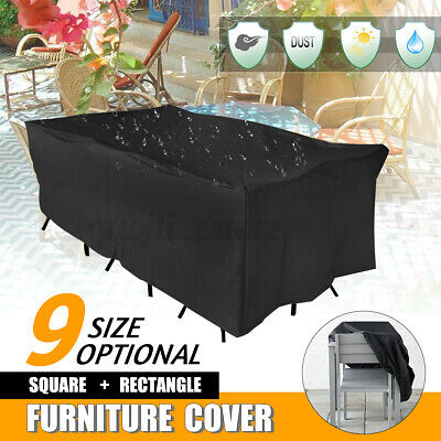 AU27.47 • Buy AU 9 Size Waterproof Furniture Cover Outdoor Garden Yard Patio Table  > AS AU1
