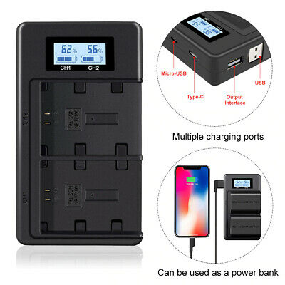 $ CDN33 • Buy Usb Battery Charger For Sony Np-Fz100 Bc-Qz1 Alpha 9 A9R A9S A7Iii Ilce-7Rm3