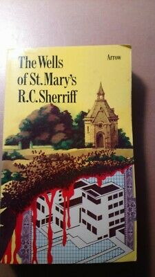 The Wells Of St Mary's R.C. Sherriff Book Arrow 1974 In Good Condition • 5.99£