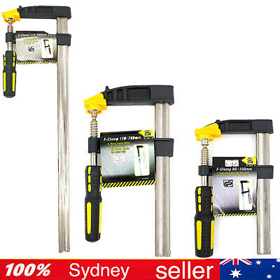 AU29.90 • Buy Super Heavy Duty F Clamp Clamps 50 80 120 X 150 200 250 300 350 450 1000 1200 Mm