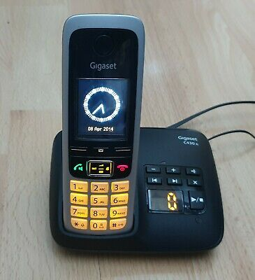 £24.95 • Buy Gigaset Cordless Phone With Answer Machine Gigaset C430A ECO Dect Home Telephone
