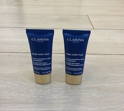 £21 • Buy Clarins Multi-Active Nuit 30ml (x2)  Normal To Combination Skin, Night Cream.