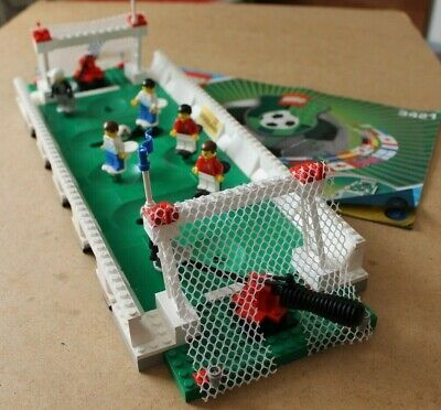 Lego 3421 Football 3 Vs 3 Shootout 2003, Complete With Instructions - Free P&P • 18£