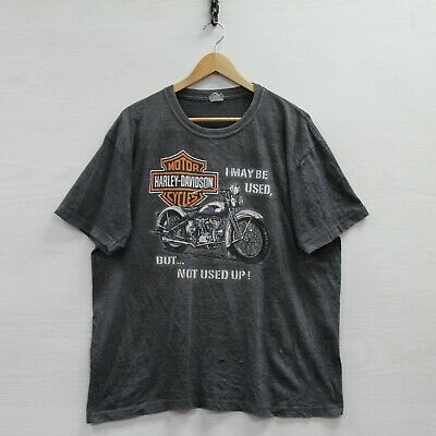 $ CDN52.25 • Buy Vintage Harley Davidson Motorcylces T-Shirt Size XL Gray