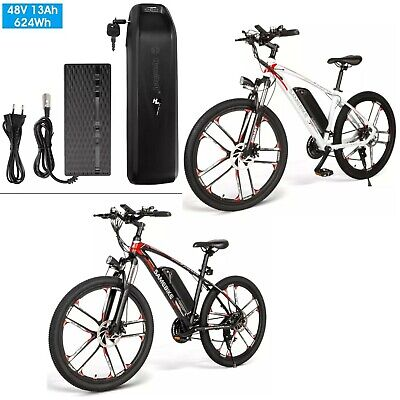 New SM26 Electric Bike 26  Power Assist Electric Bicycle 350W E-Bike - 2 Colours • 199£