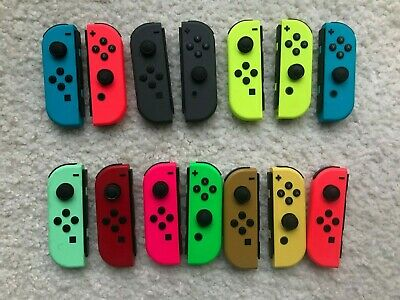 $33.99 • Buy Genuine OEM Nintendo Switch Joy Con Controller Left Or Right Various Colors