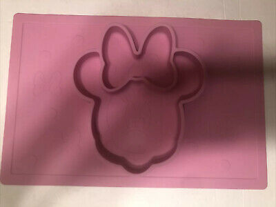 MINNIE MOUSE Pink Silicone Mold Cookies Decoration Toppers Disney • 8.24£