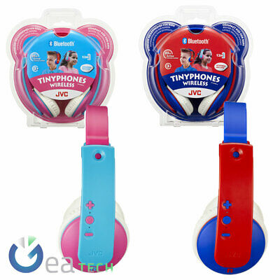 JVC Earphones Bluetooth On-Ear HA-KD9BT For Children With Limiting Of Volume • 36.49£