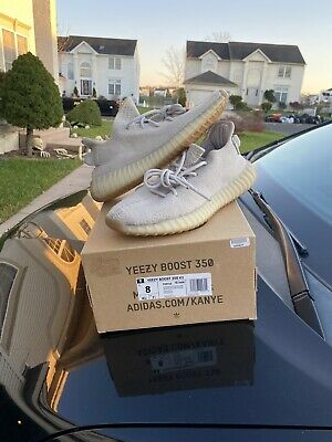 """$ CDN232.26 • Buy Adidas Yeezy Boost 350 V2 """"Sesame"""" Size 8 Clean Goat Verified.Og Box And Soles"""