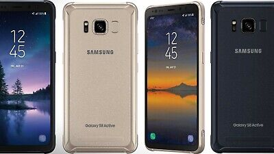 $ CDN142.99 • Buy Samsung Galaxy S8 Active AT&T / Unlocked Android Smartphone - LCD SHADOW BURN