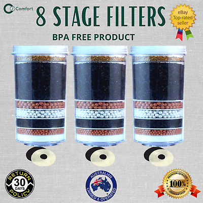 AU65 • Buy 7 8 Stage Water Filter Replacement Filter For Aimex Water Dispenser Purifier X 3