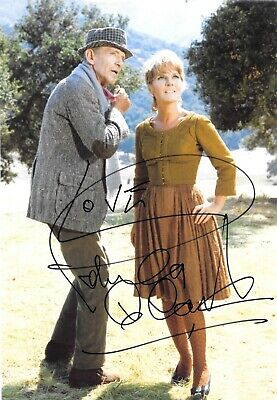 Petula Clark WITH FRED ASTAIRE FINIANS RAINBOW FILM SCENE Signed 12x8 Photo  • 69.99£