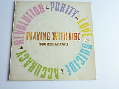 £49.99 • Buy Spacemen 3 Playing With Fire Vinyl Lp Fire Lp16 In Excellent Condition