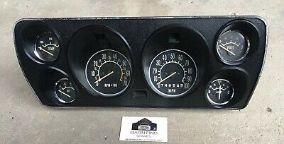 AU1495 • Buy Torana HB Brabham Instrument Cluster May Suit LC LJ TA 4 Cyl Dash Gauges Gauge