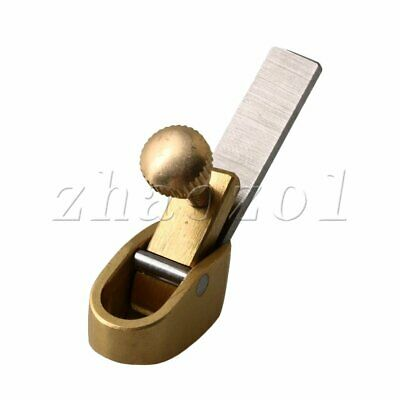 Brass Hand Planer 48MM Length Hand Tool For Violin Viola Making Gold • 10.86£