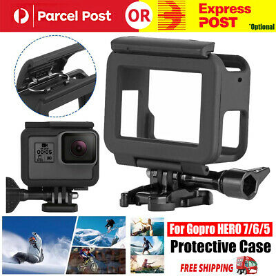 AU13.98 • Buy Housing Border Protective Shell Case With Socket & Screw For GoPro Hero 7/6/5