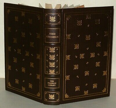 John Steinbeck - Of Mice And Men HB, Franklin Library, Ltd Edition, 1977 Leather • 149£