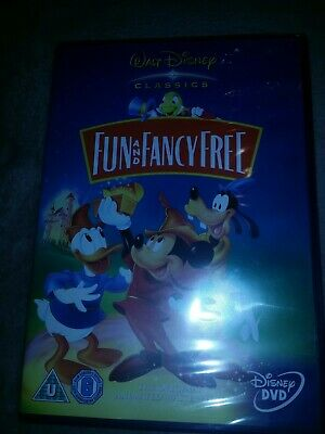 Disney FUN AND FANCY FREE - DVD New & Sealed • 4.95£