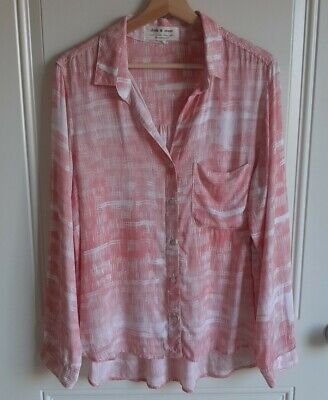 $ CDN50.93 • Buy Cloth & Stone Anthropologie Womens Marnie Buttondown Top Shirt Blouse Size Large