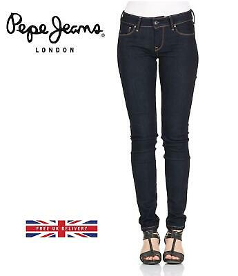 PEPE Jeans Mid Rise Soho Skinny Jeans Over 43% Off, Free UK Delivery • 24.99£
