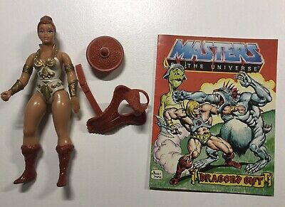 $19 • Buy Vintage 1982 Mattel Masters Of The Universe Teela Action Figure Near Complete