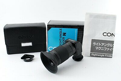 $ CDN37.75 • Buy  MINT In BOX  Contax Right Angle Finder N Magnifier For Aria RTS II Japan 7486