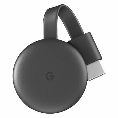 AU54.99 • Buy Google Chromecast 3rd Generation Charcoal