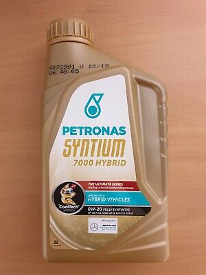 Petronas Syntium 7000 Hybrid 0w20 Fully Synthetic Engine Oil 1 Litre • 6.50£