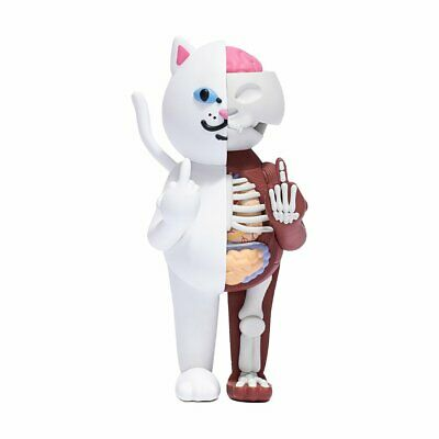 "$499.99 • Buy RipNDip Lord Nermal Cat 14"" Vinyl Figure White 500 Limited Rare Kaws Bearbrick"