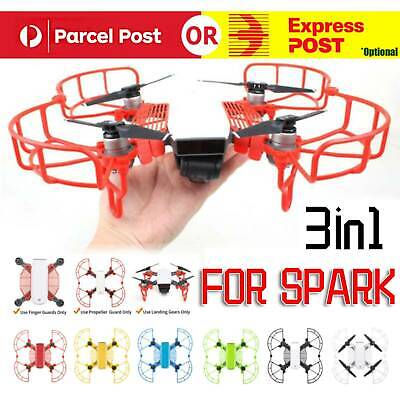 AU17.99 • Buy Propellers Blade Protector Landing Gear Hand Guard Cover Release For DJI Spark