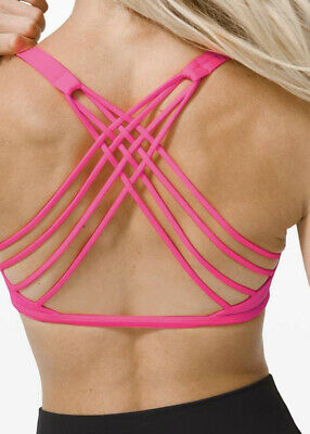 $ CDN75 • Buy Lululemon Free To Be Bra Wild Size 12 NWT A/B Cup Activate Pink Highlight