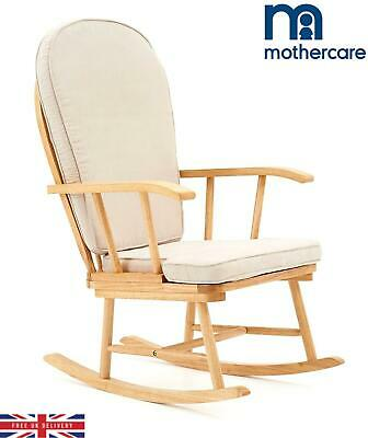 Mothercare Basic Rocking Chair Natural Wood For Parents Baby Nursery  • 149.99£