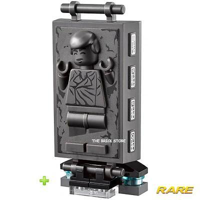 £6.95 • Buy Lego Star Wars Han Solo In Carbonite Chamber Figure + Rare Stand - 752430 - New