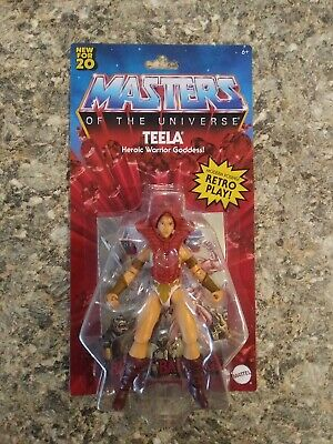 $22.49 • Buy He-Man Masters Of The Universe Teela Origins Retro Play HEROIC WARRIOR GODDESS