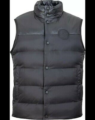 RRP £250 Hugo Boss Black Gilet Mens Size Small Puffer Jacket Vest Down EA7 Y3  • 159.99£