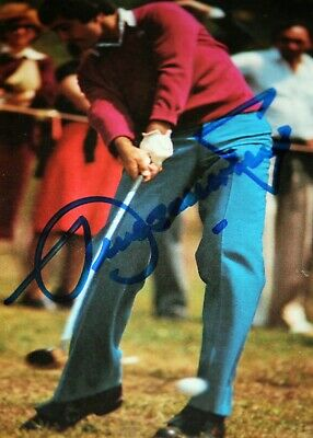 Seve Ballesteros INK Signed Photo Framed Autograph Masters Signature Open • 69£